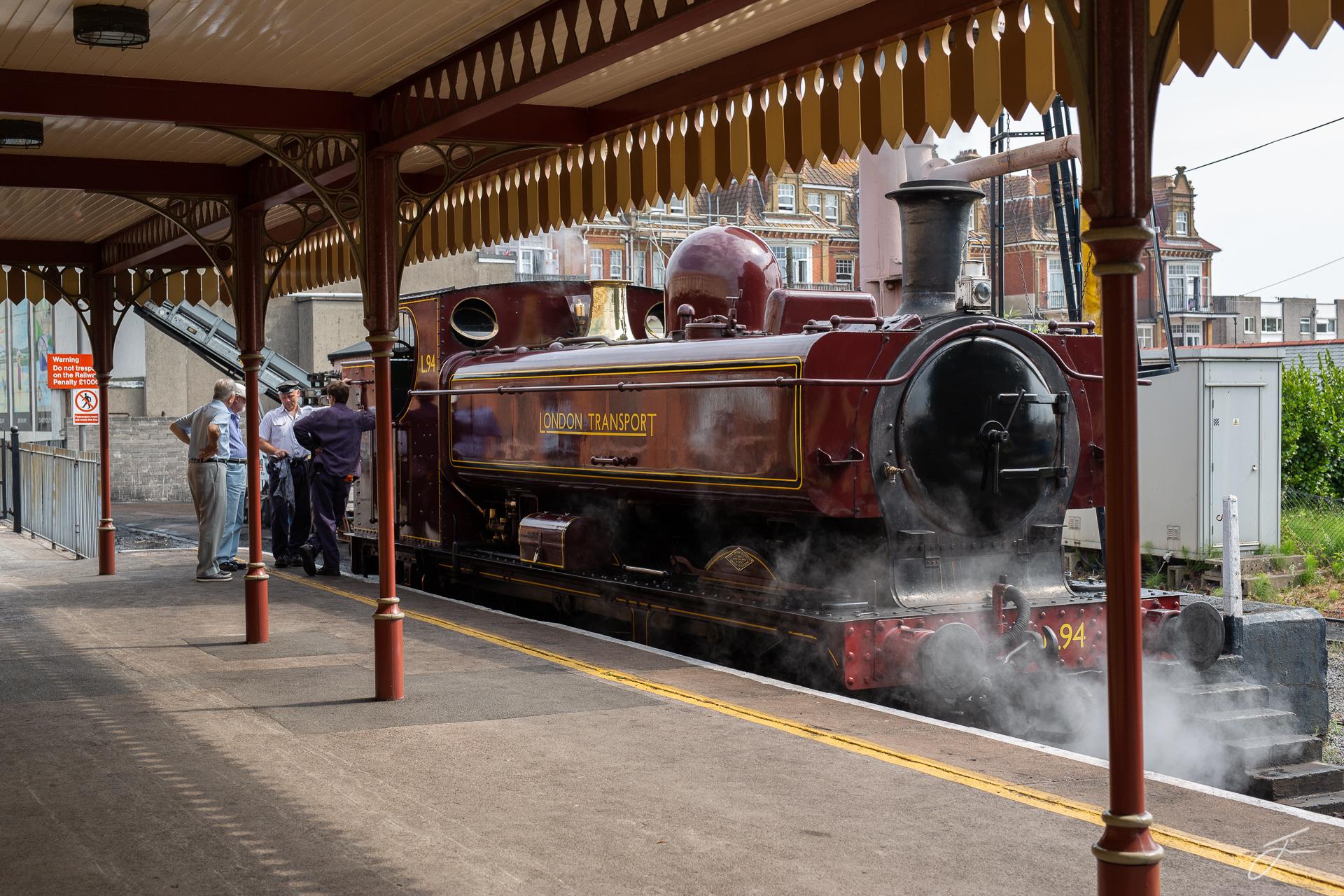 Paignton Station ©Julie Corcoran.