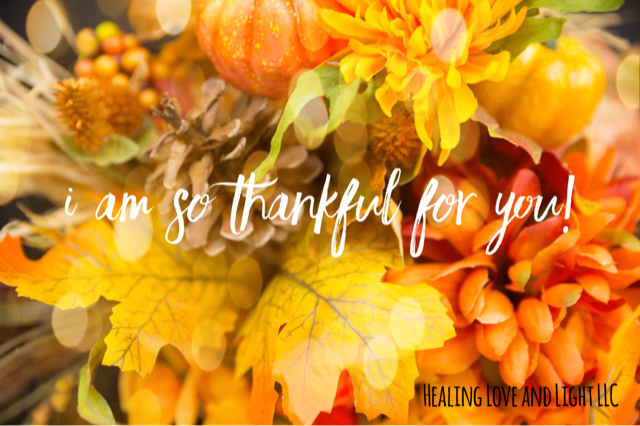 Thankful for YOU. Your love, support, and the feedback I receive from all of YOU!
