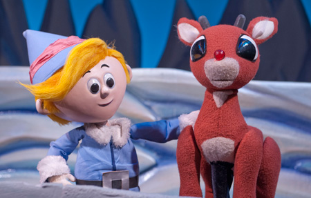 Center for Puppetry Arts - For the 2018 holiday season, Anna reprised the role of Rudolph in Rudolph the Red Nosed Reindeer at the Center for Puppetry Arts.