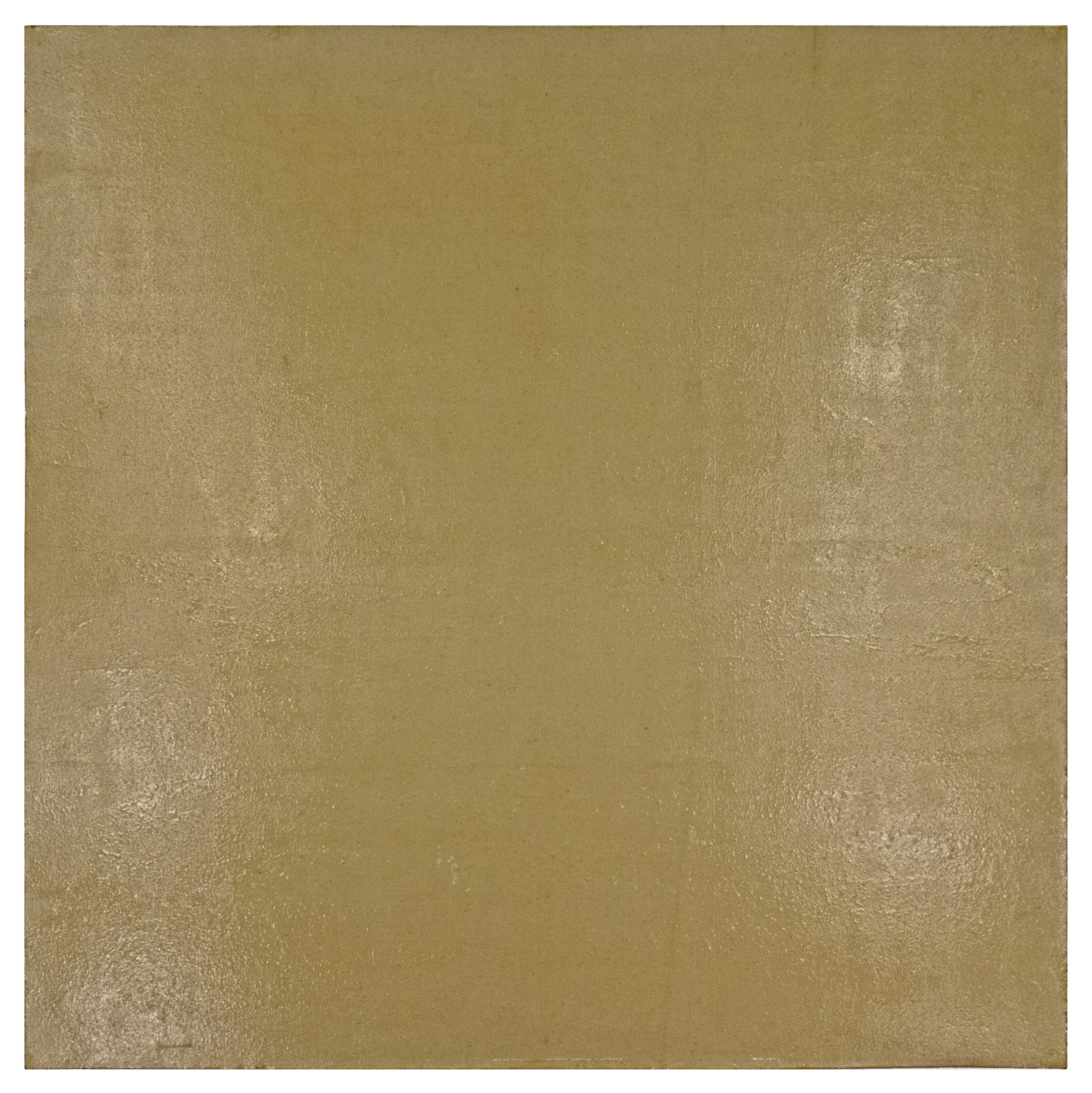 "Kleu; 1971; Gesso and acrylic on linen; 46 x 46""; Item #252"