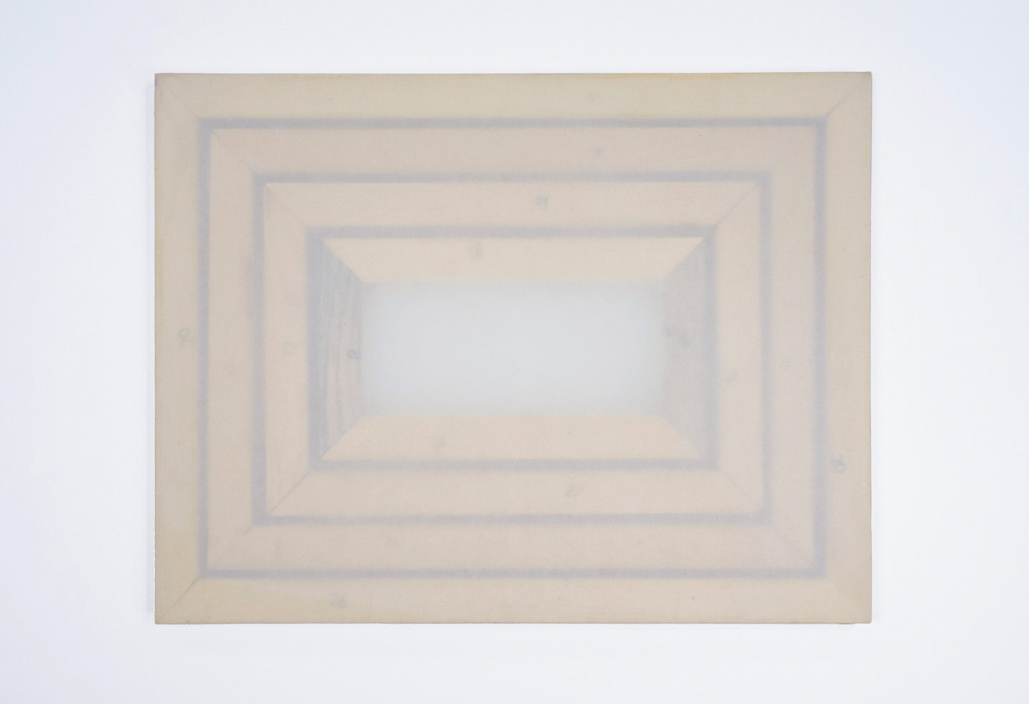 """Numbars; four painting frames, sized as noted below; tracing paper; largest painting frame: 25 5/8 x 19 5/8"""""""