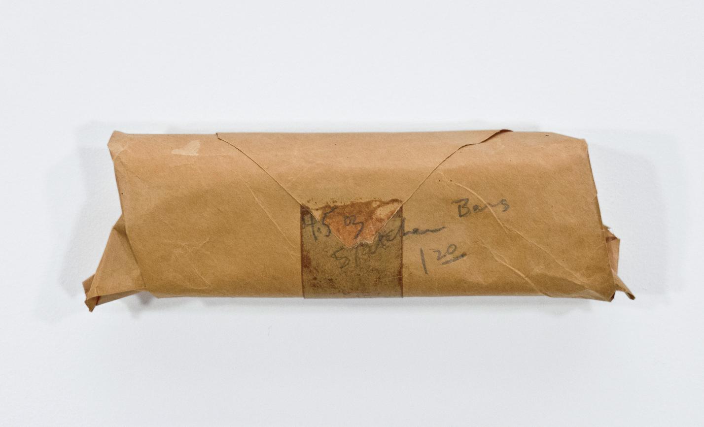 "4.5oz Stretcher Bars; stretcher bars, packing paper and graphite; 10 ½ x 3 x 1 3/8"""