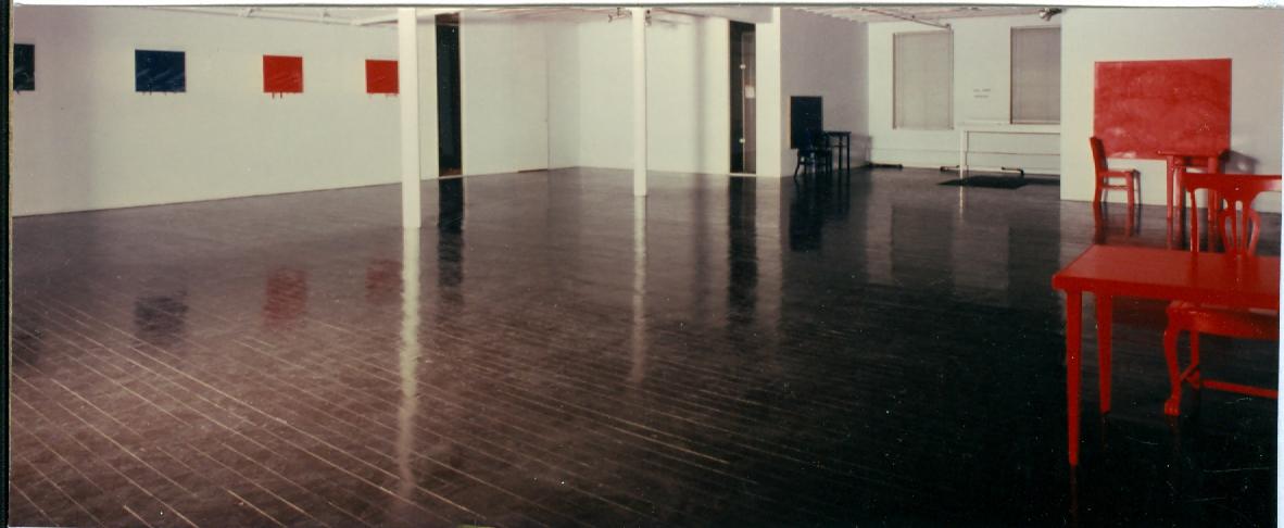 John Weber Gallery installation, 1978