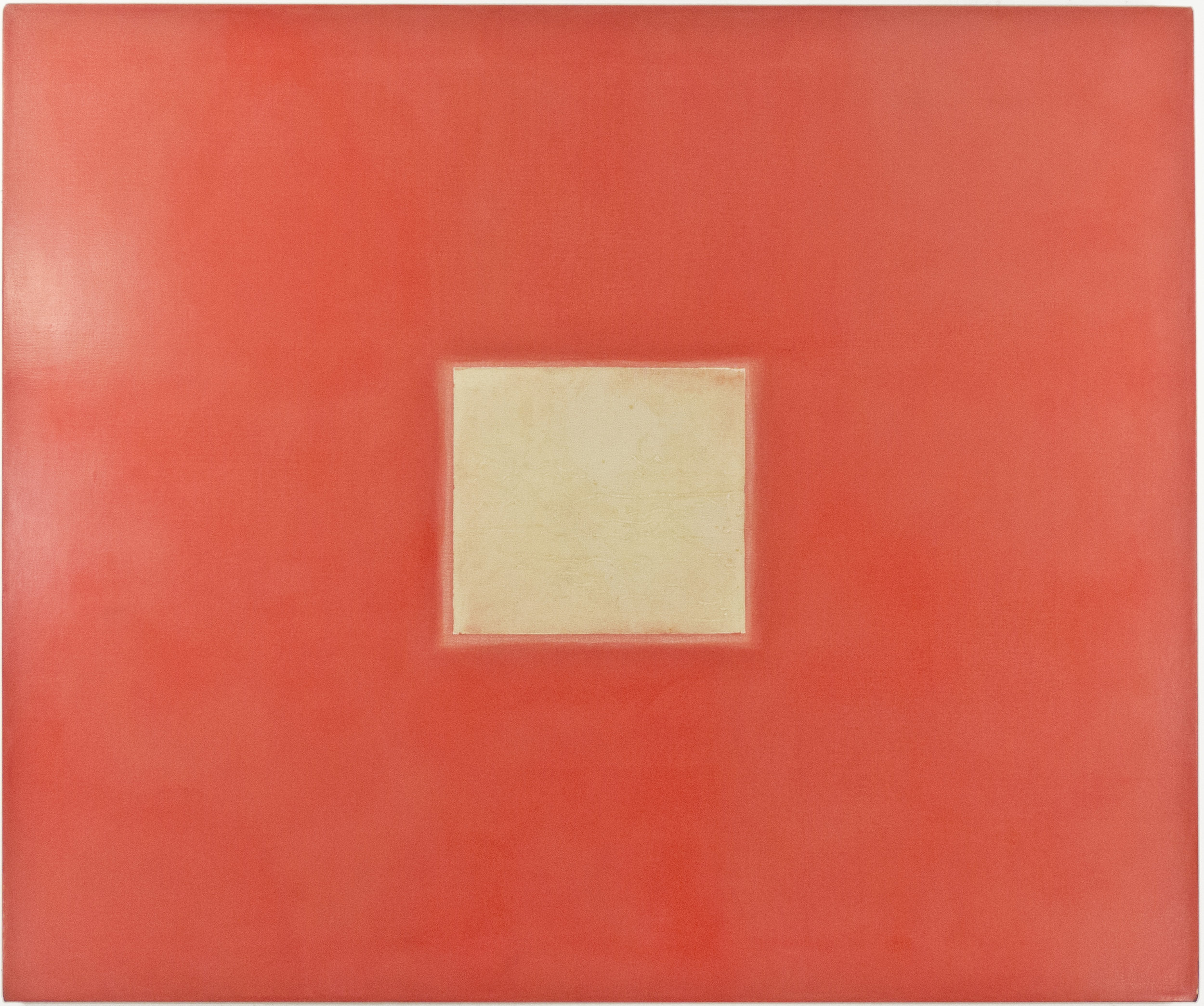 """1964; acrylic and emulsion on canvas; 48 x 40"""""""