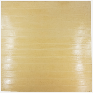 "Bhrug; 1971; Gesso and acrylic on linen; 65 x 65""; Item #217"