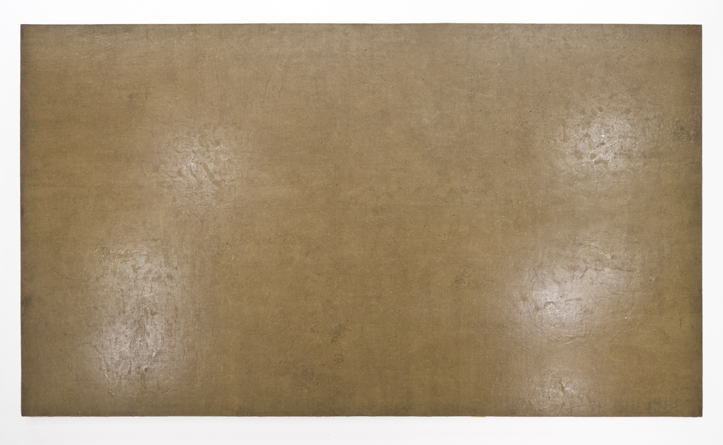 "Ters; 1971; Resin/emulsion on unpainted linen; 67 x 119""; Item #218"