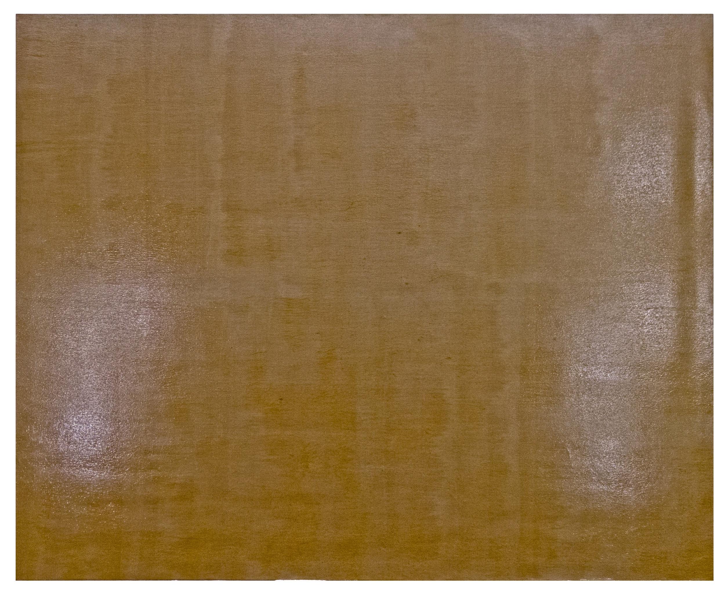 "Kweye, Resin/emulsion on unpainted linen, 80 x 100"""