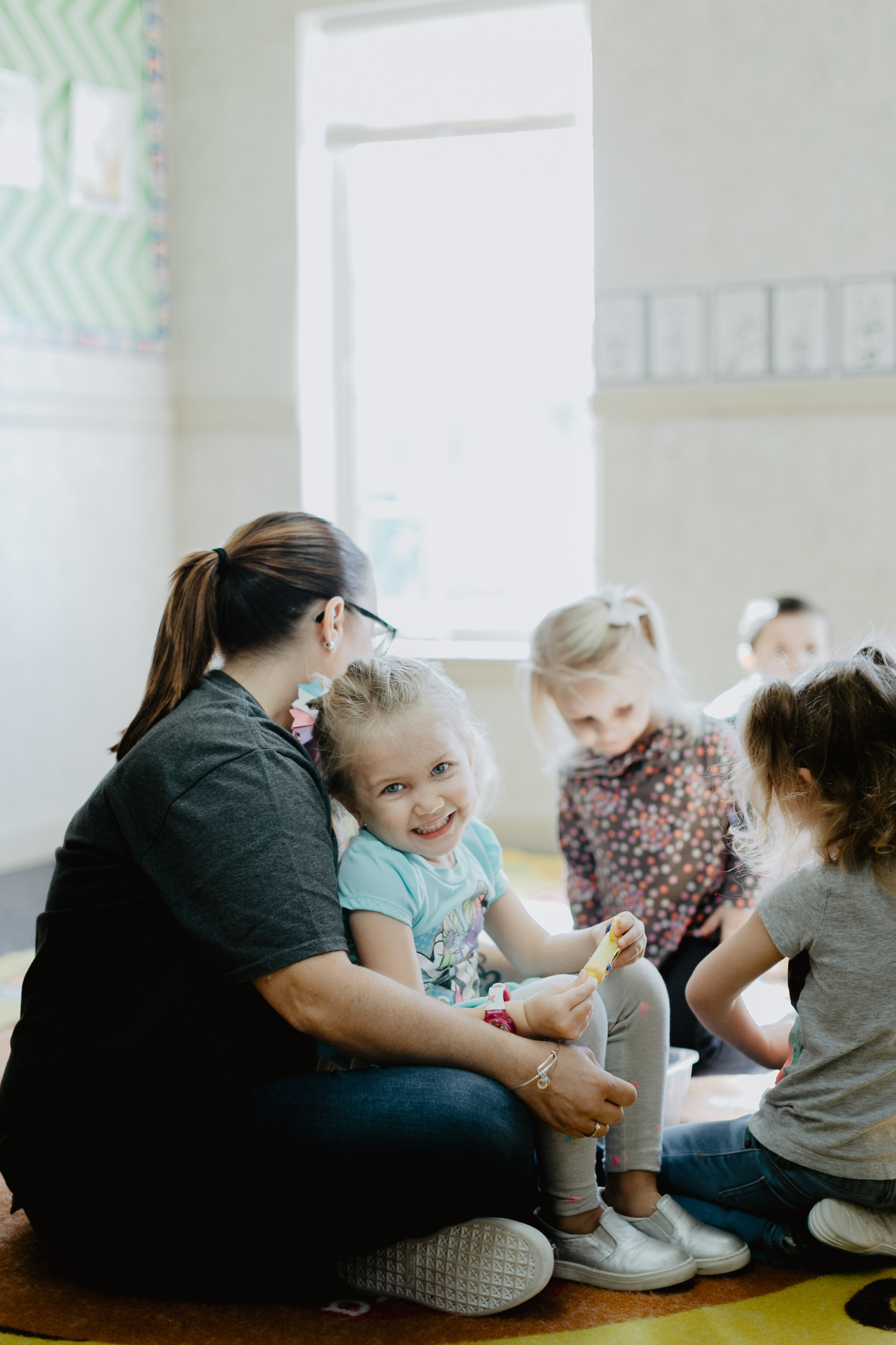 AND OUR FAMILY MINISTRIES   If you've got kids, we've got a place for them! Our facility is an Early Learning Center through the week creating the ultimate safe, age-appropriate, interactive, and cultivating environment for your children. We have environments for  Birth-Pre-K ,  K-5th Grade , and  Middle School .
