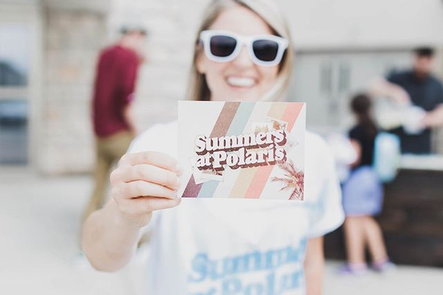 Summer has arrived, join us Sundays at 9:30 am + 11:00 am as we dive into the Stories of Summer series and have all kinds of fun on the lawn!  Tomorrow is a great day for a great day and a great day to invite a friend along with you! #polarischurch #columbushasaname