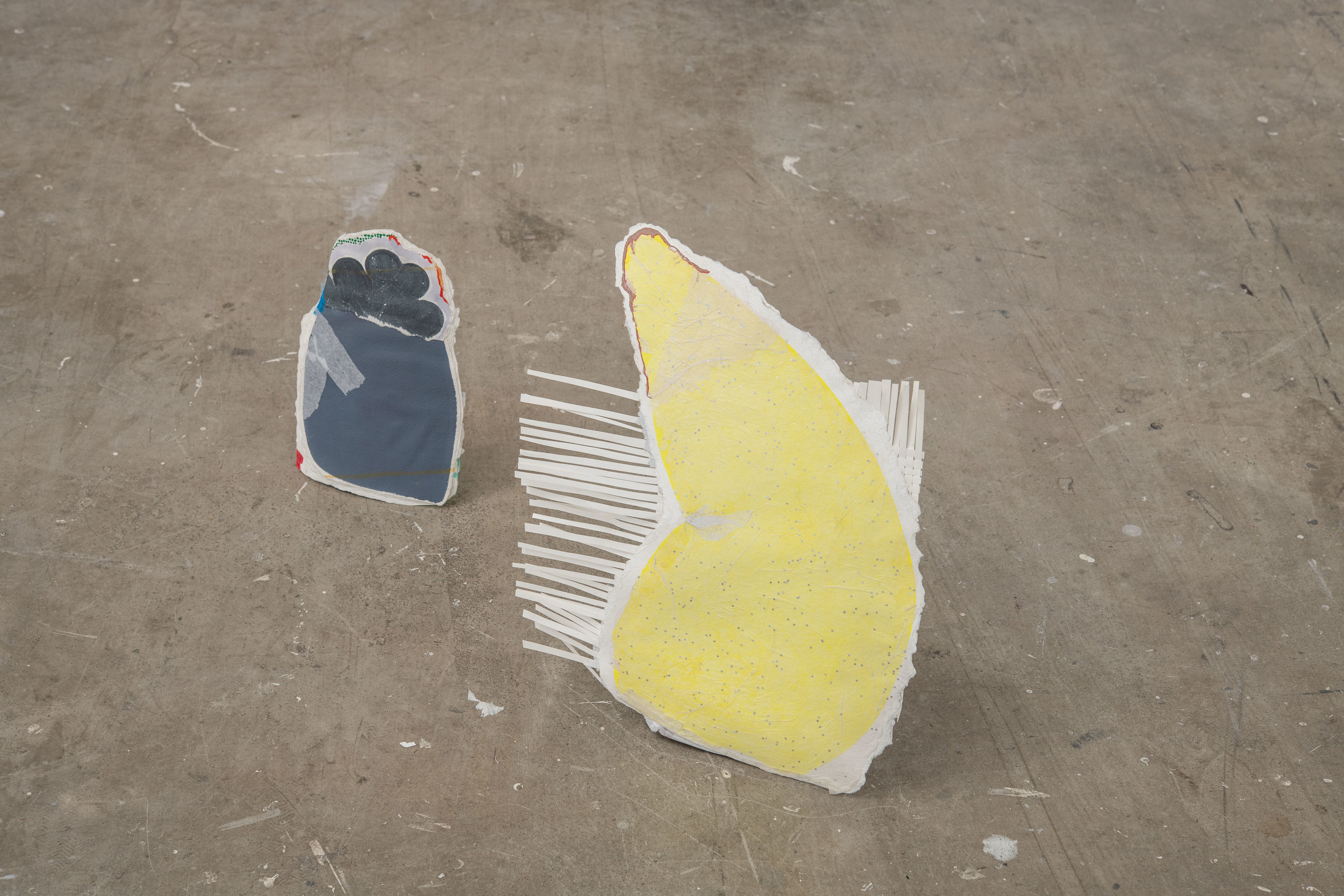 Ground (grey drawing)   /   Ground (yellow drawing)