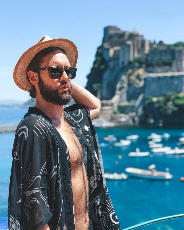 We are back in the states for a bit and are definitely going through summer-in-Europe withdrawals, but we are having so much quality family time that it's impossible to feel sad about it. For now, we'll just gaze longingly at this picture of Tristan showing off his 'serious face' in Italy.