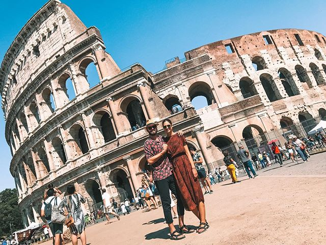 Even though we spent most of the day chasing the shadows and trying to escape the heat in Rome, we still managed to see the sights and snap a few photos. It was challenging, but we treated ourselves with pizza and wine and everything was right in the world again.