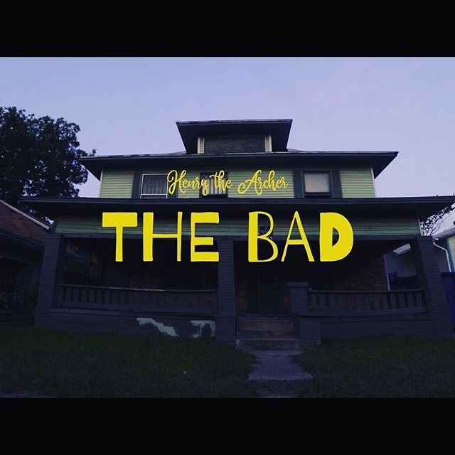 """The Official Music Video for the latest Single, """"The Bad"""" is now streaming on YouTube, the HTA Facebook Page, and of course: www.HenrytheArcher.com 🖤 - Thanks for listening 🔥"""
