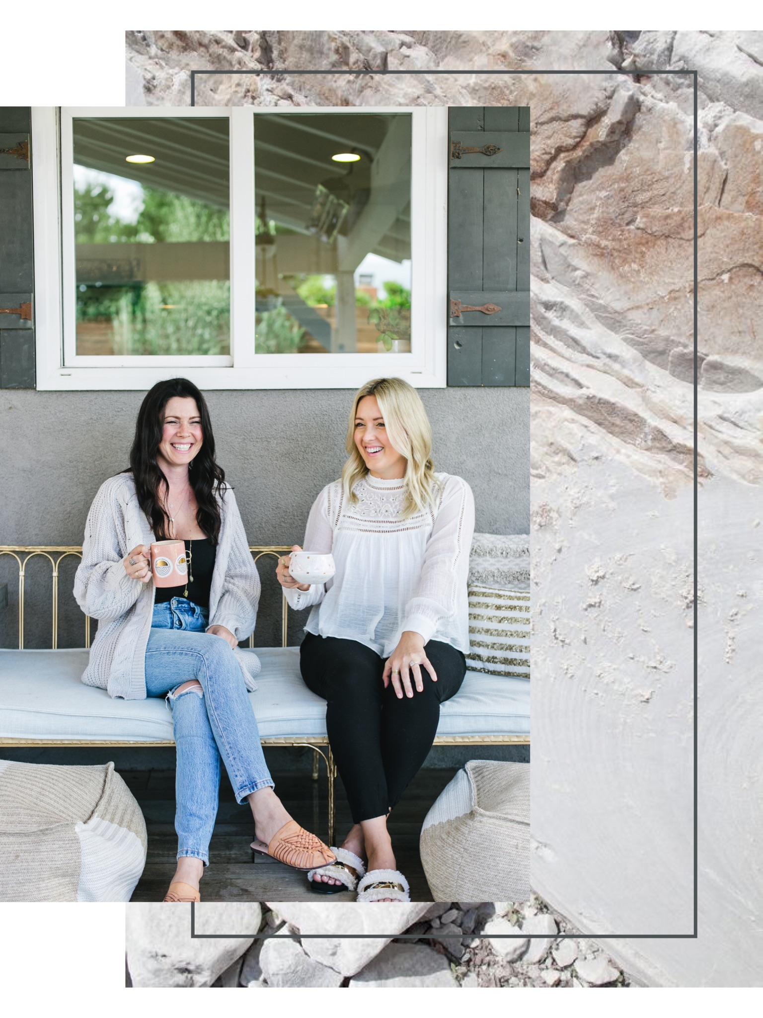 Hello & Welcome - Hi, Jen & Tab here!Out of our hearts to unify women, we created Kinship Cultivated to help you find beauty in your own friendships, while inspiring you to bond over decor, fashion, food & MORE!XOXO