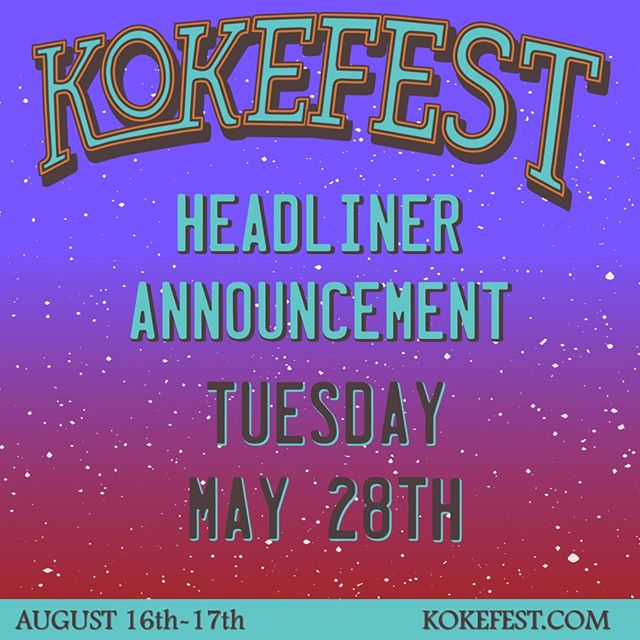 Who will be joining @officialjoediffie, @readsouthallband, @chris__colston and @copperchief on Friday, August 16th at #KOKEFEST? FInd out next Tuesday, May 28th during the #KOKEintheMorning show and grab your tickets now at the link in our bio! #KOKEFESTISCOMING