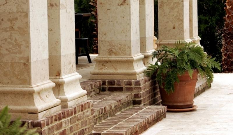 Macedonia Limestone Clad Columns.jpg