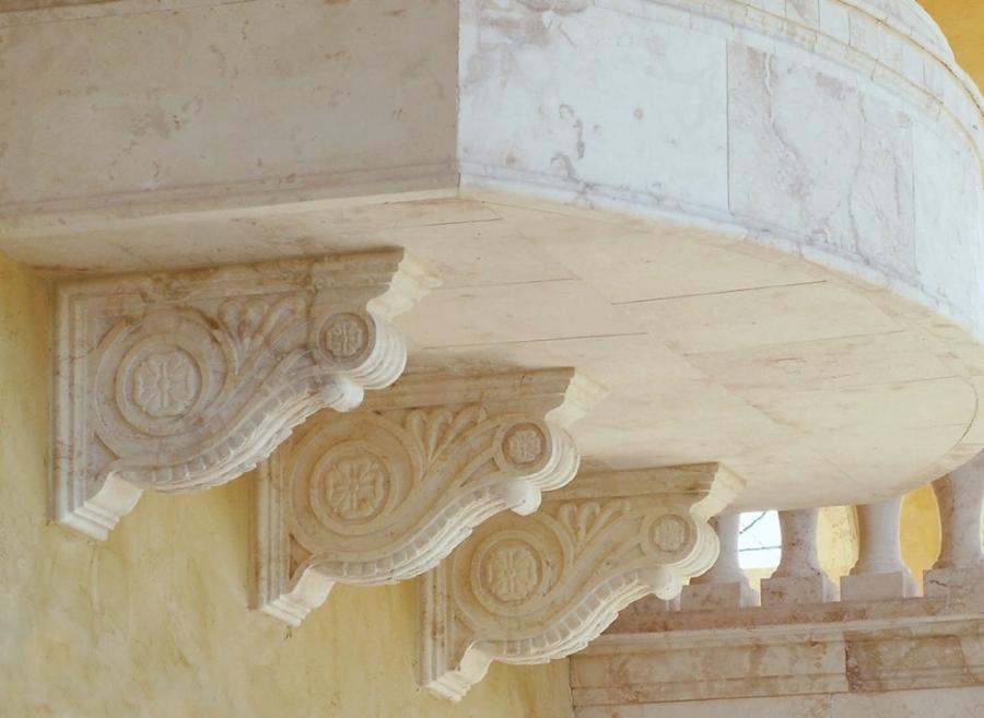 Macedonia Limestone Corbels.jpg