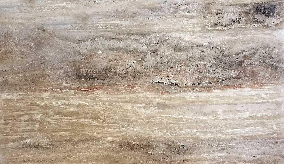 Espresso Marble Limestone - Vein Cut