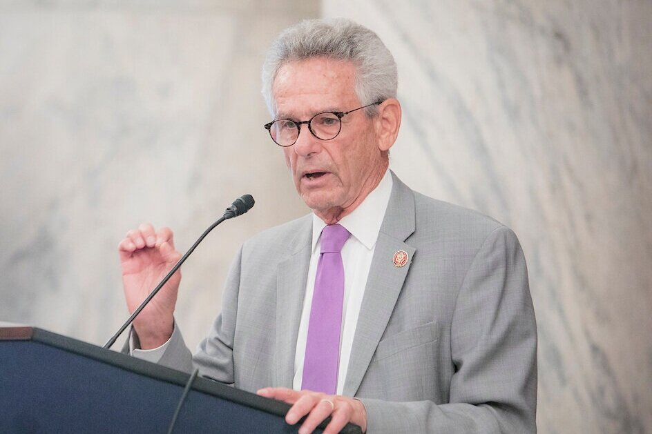 Rep. Alan Lowenthal (D-CA), Co-Chair of the Congressional Caucus on Vietnam, gives keynote remarks at the Captive Nations Week Summit.