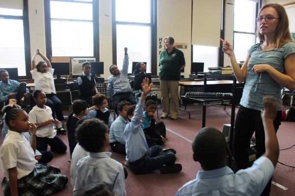 """""""An incredibly educational and engaging presentation that not only inspired my students, but got them excited about Rump and fairytales in general.""""  — Katie Lawrence, Librarian, Immaculate Conception St. Joseph School, Chicago, IL"""