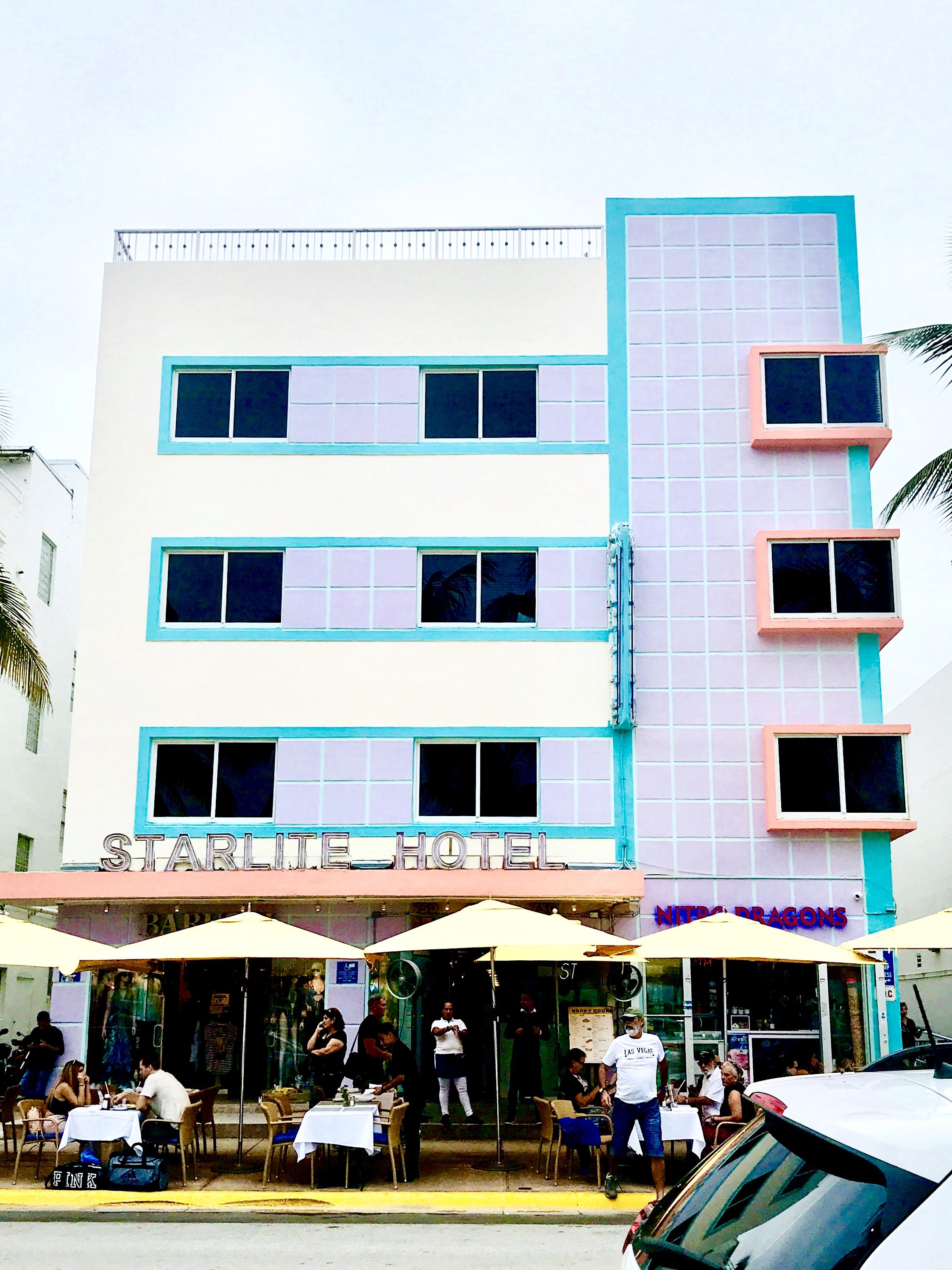 Starlite Hotel, Miami, Florida - Miami's Art Deco Architecture Walking Tour
