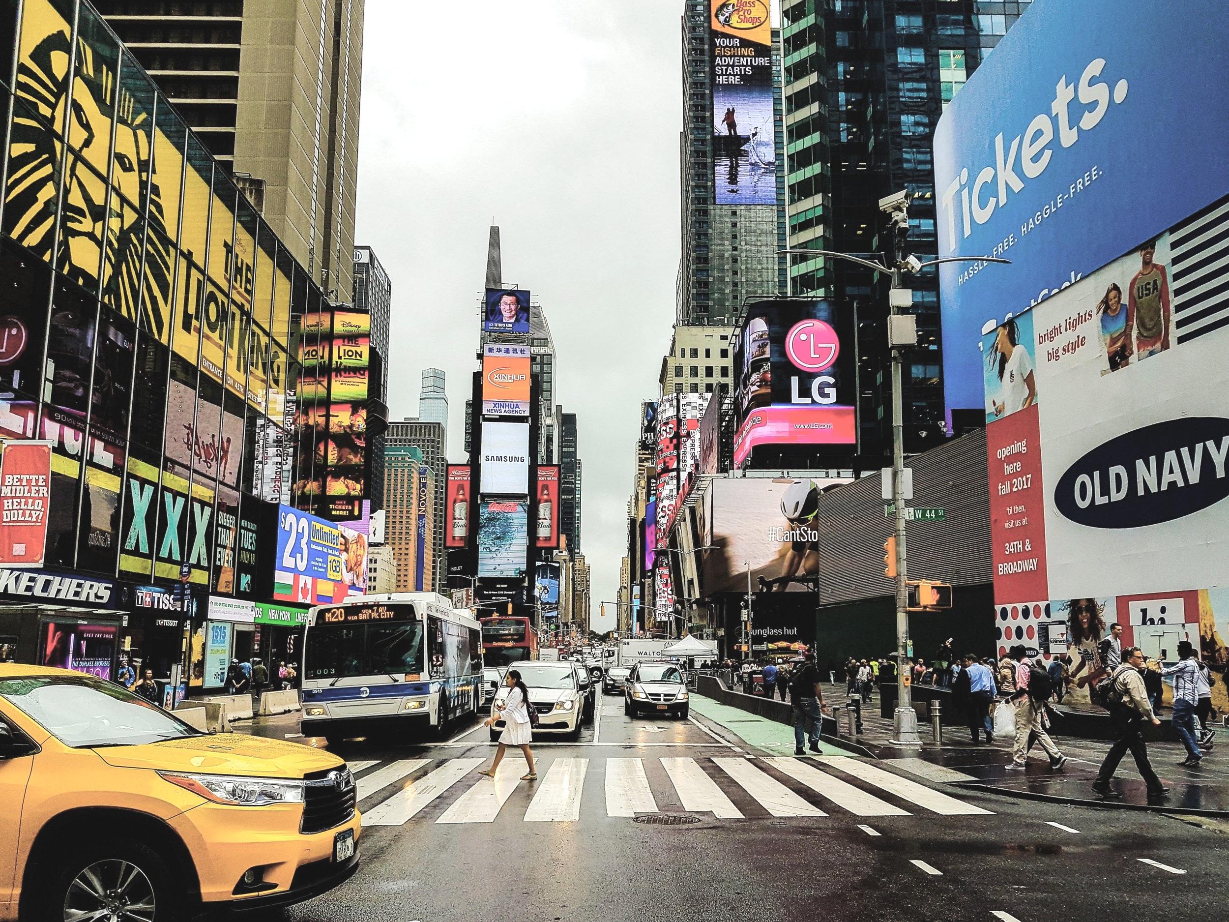 Times Square, New York City, NY