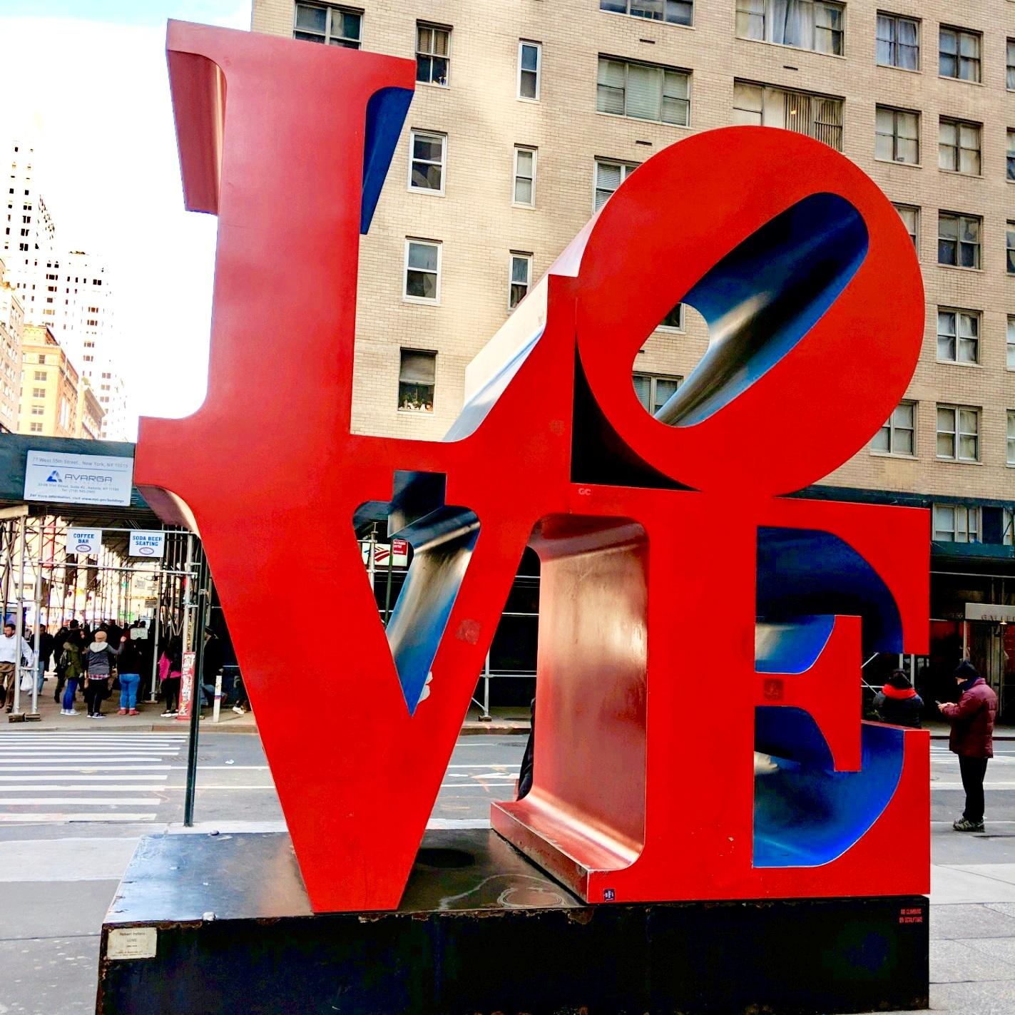 LOVE Sculpture, Manhattan, New York City