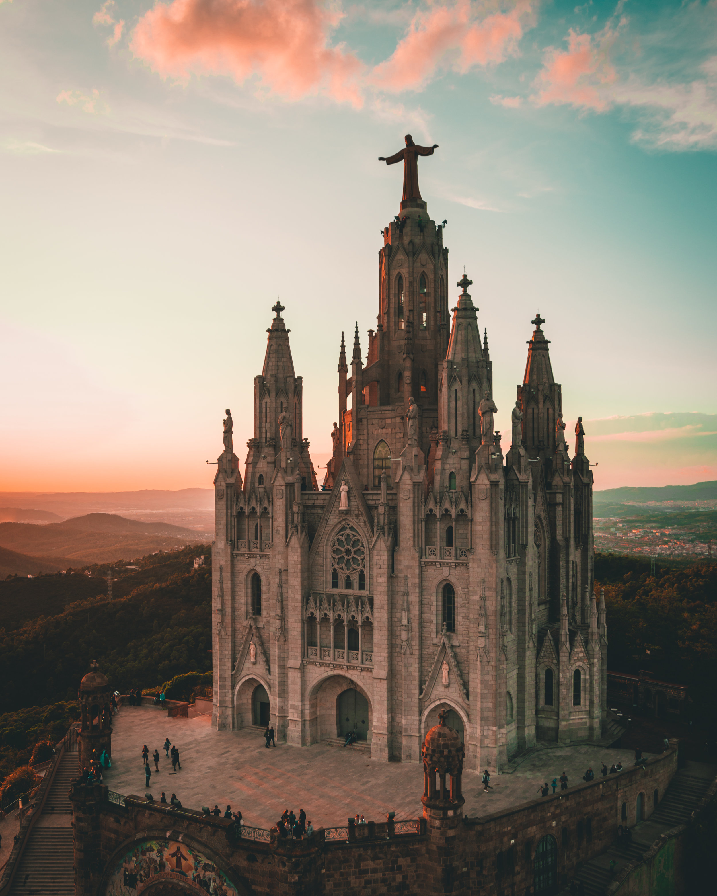 Temple Expiatori del Sagrat Cor, Barcelona, Spain