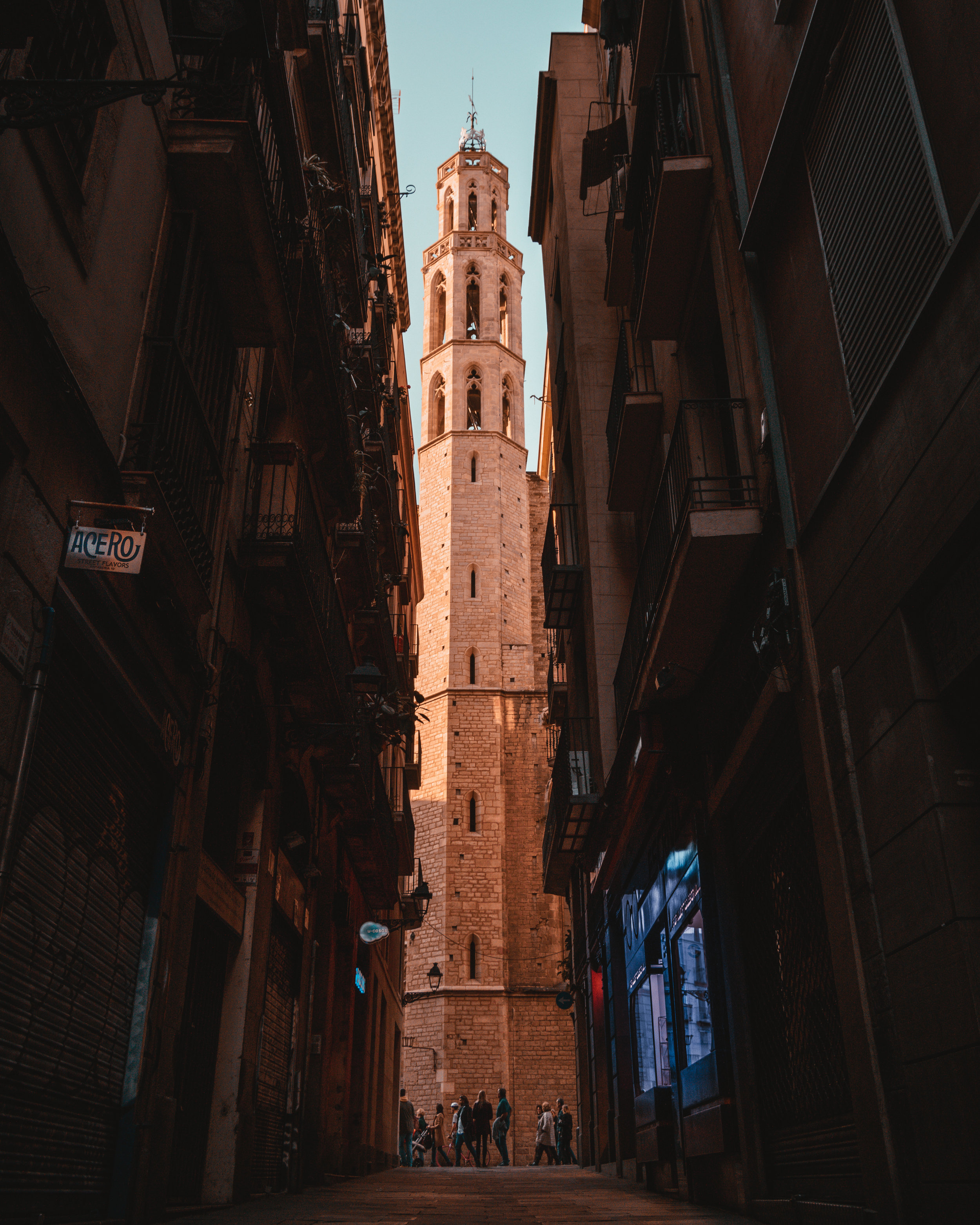 Basilica Santa Maria Del Mar, Barcelona, Spain