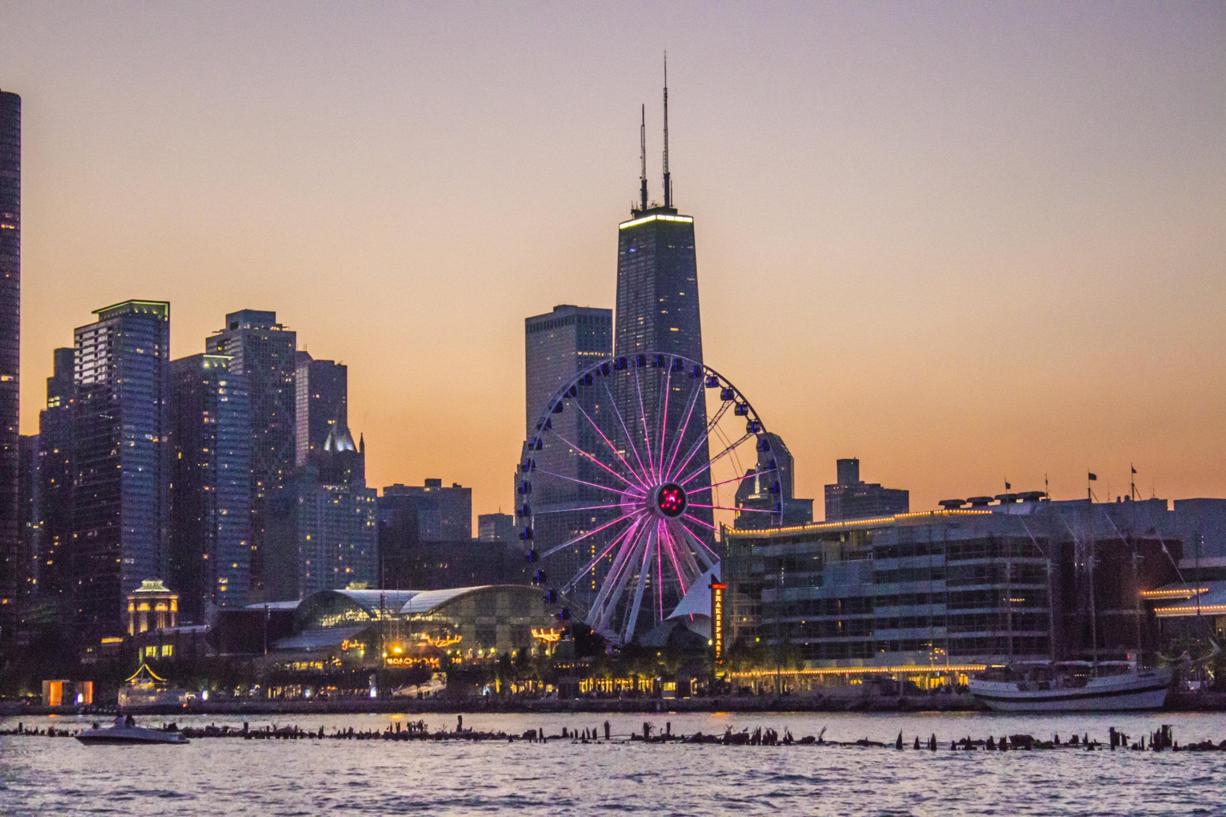 Navy Pier & Centennial Wheel