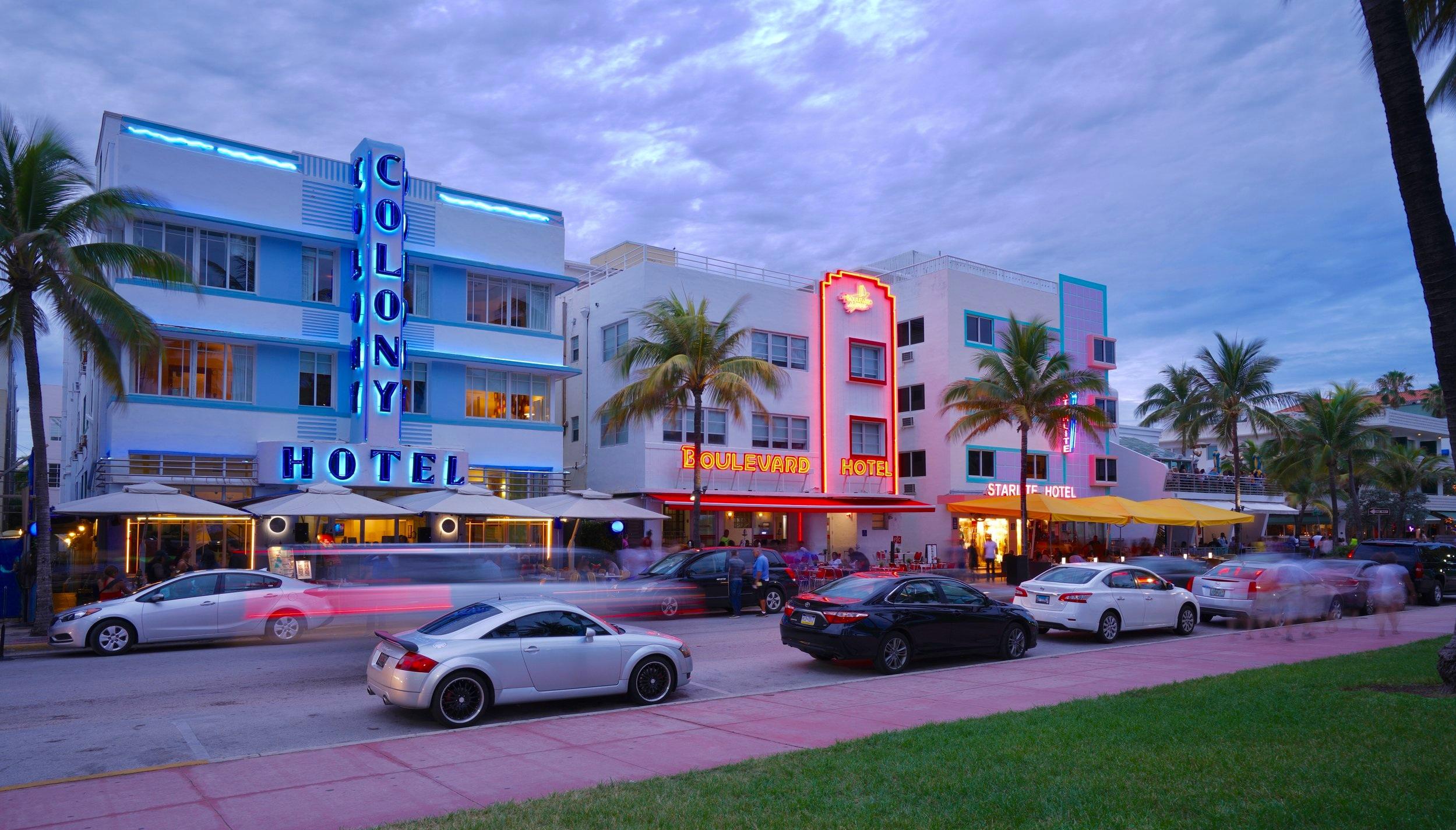 South Beach, Miami, Florida, USA