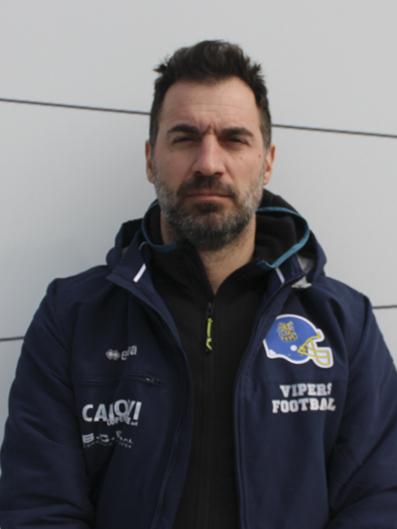 Fabrizio Vaccari ASSISTANT COACH RB