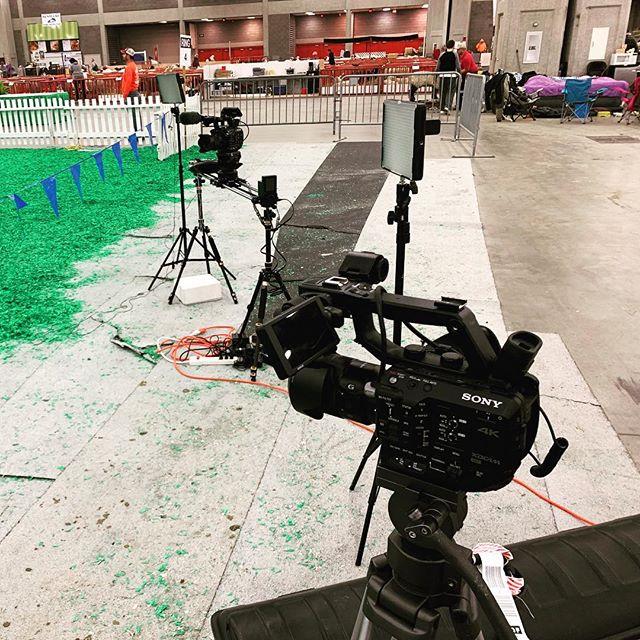 Shooting in Louisville #videographer #interviews #lotsofsheep #fs7 #fs5