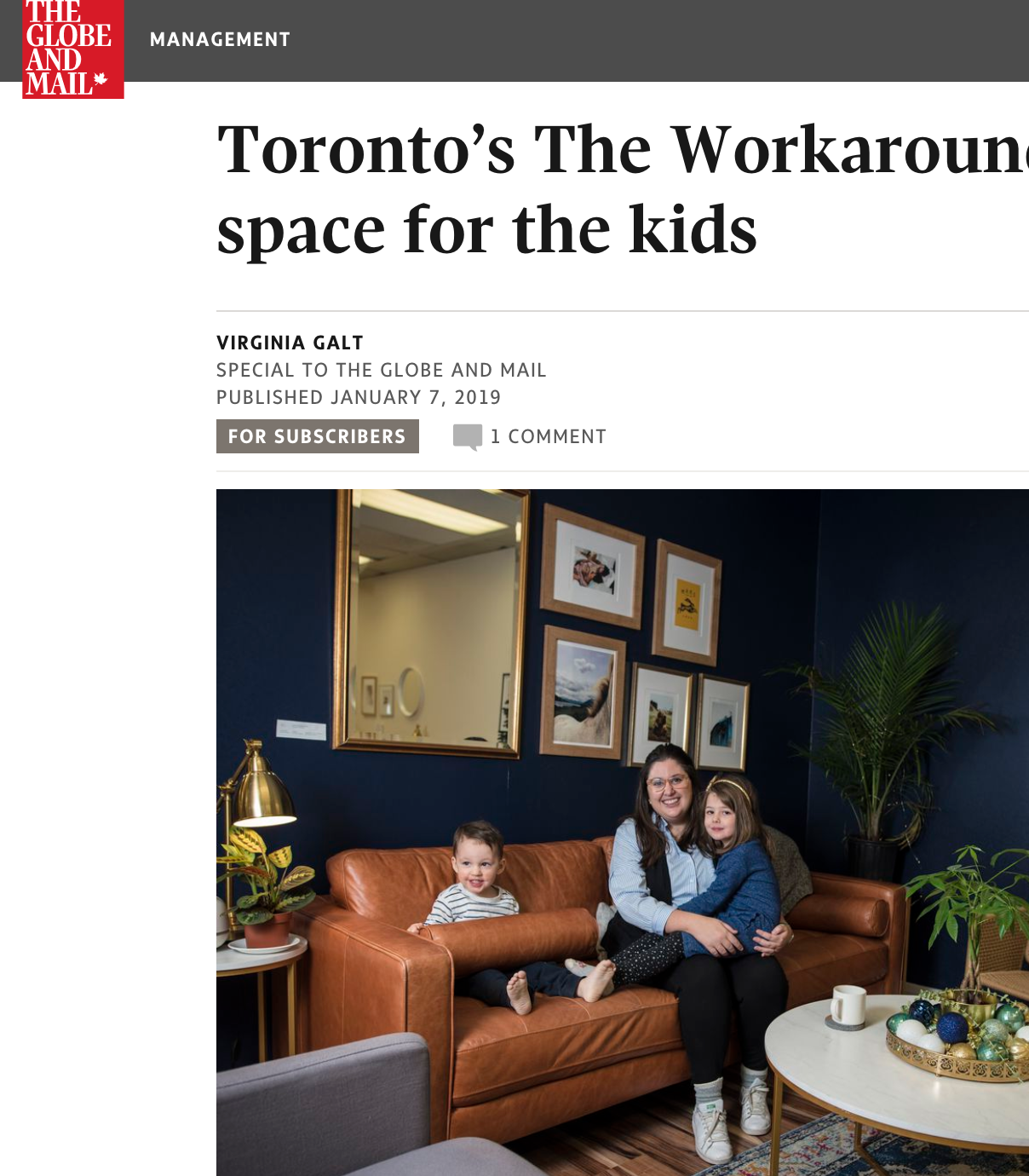 The Globe and Mail: January 2019