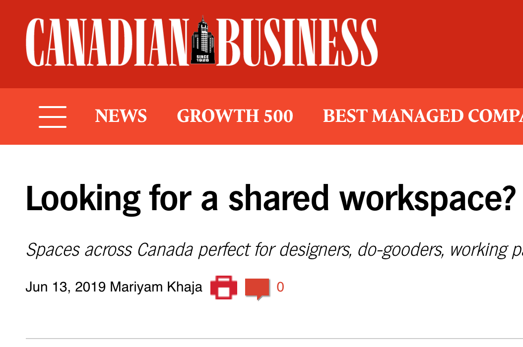 Canadian Business June 2019