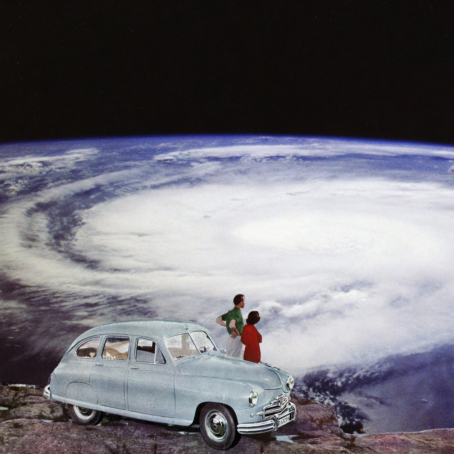 Look Honey Another Shit Storm | 2017 |garethhallidaycollageart.com