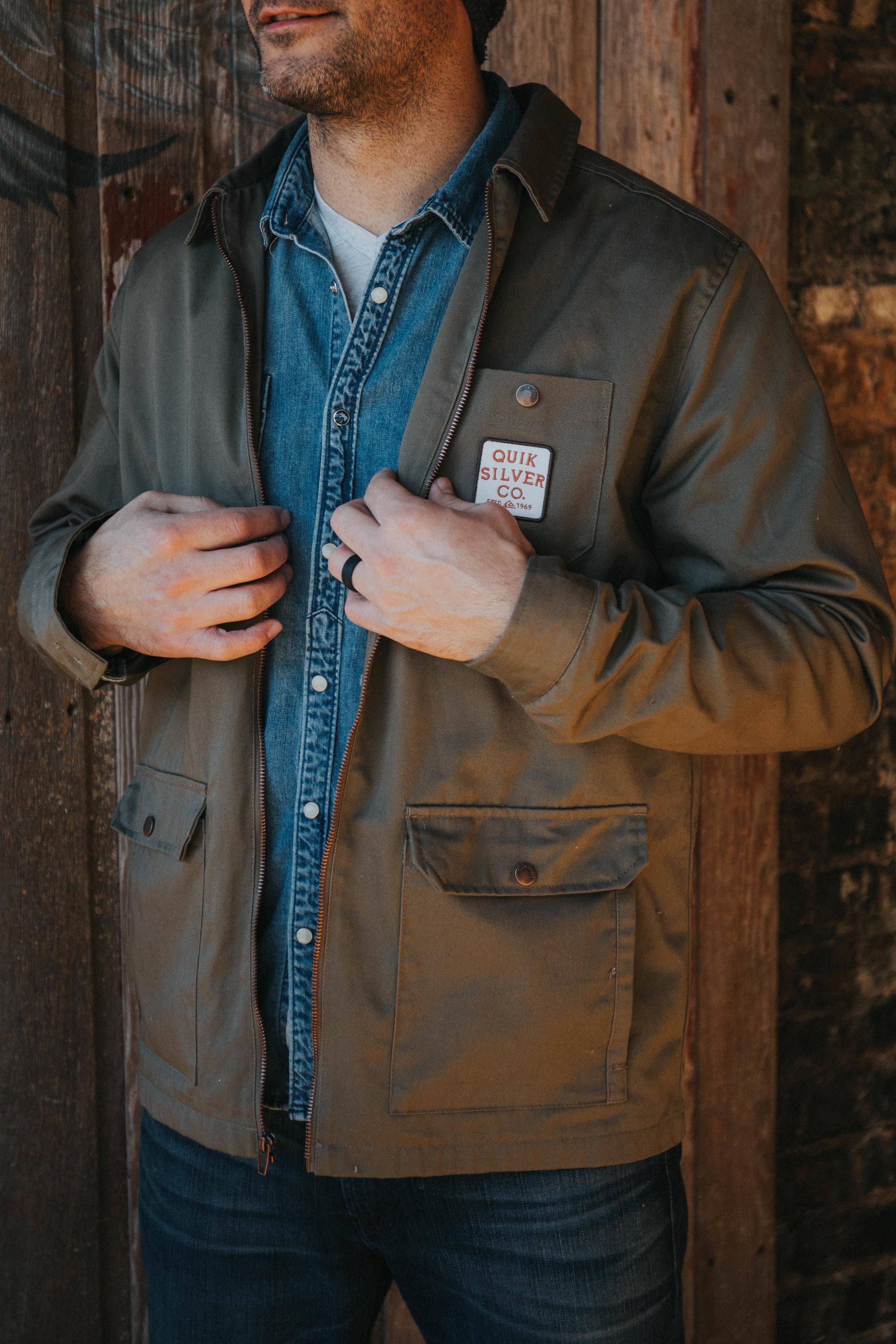 Quiksilver Mens MASHU Times Jacket