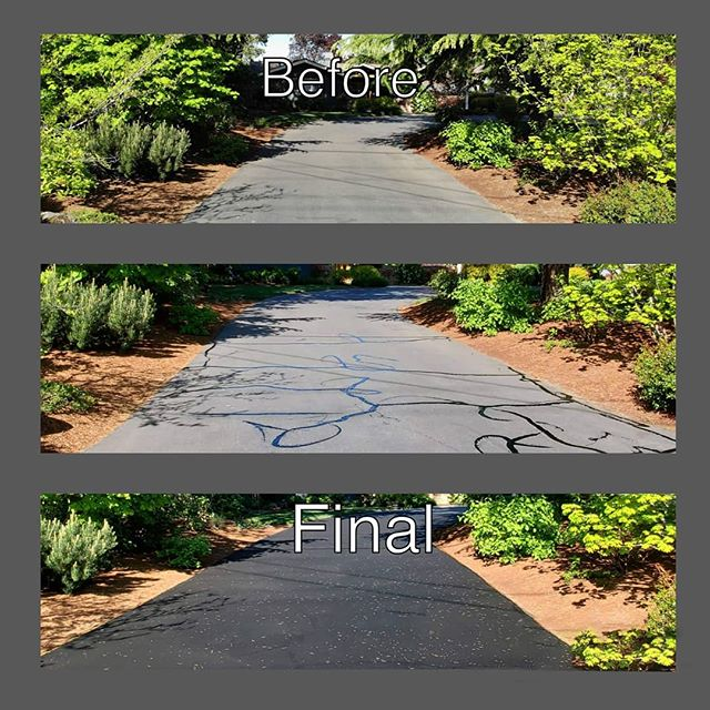Making some progress on our customer list. There is still room on our summer schedule! . . . .  #coveryourasphalt  #greenconstruction #environmentallyfriendly #wemakeasphaltpretty #sealcoat #sealcoating #cracksealing #asphaltsealing #parkinglotmaintenance #standoutfromthecrowd #professional #detail #contractorsofinsta #contractor #southernoregon #roguevalley #stateofjefferson #medfordoregon #klamathfalls #grantspass #iamnastygood #satisfy #satisfyingvideos #satisfactionvideos #satisfactionguaranteed #oddlysatisfyingslime