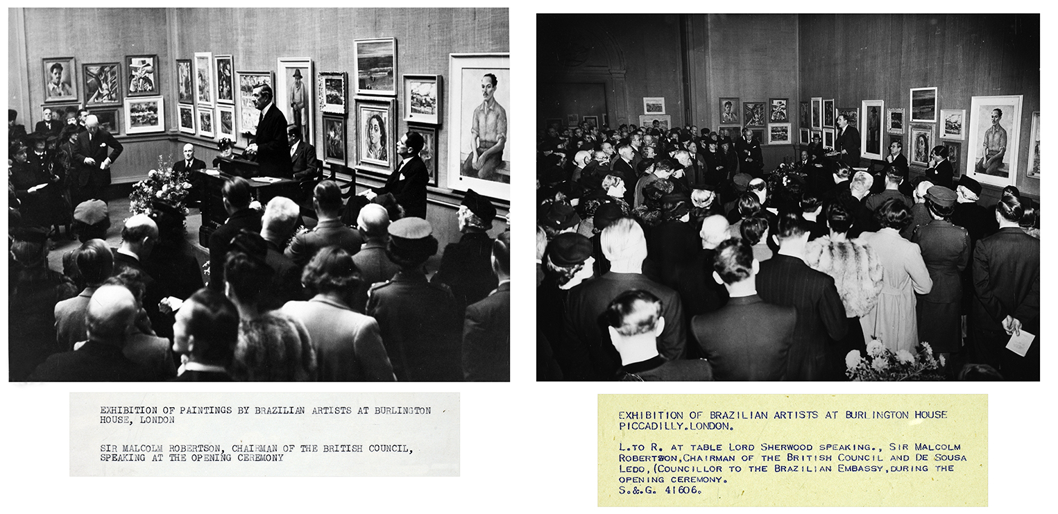6. Exhibition of Brazilian Artists at Burlington House, 1944, Royal Academy of Arts