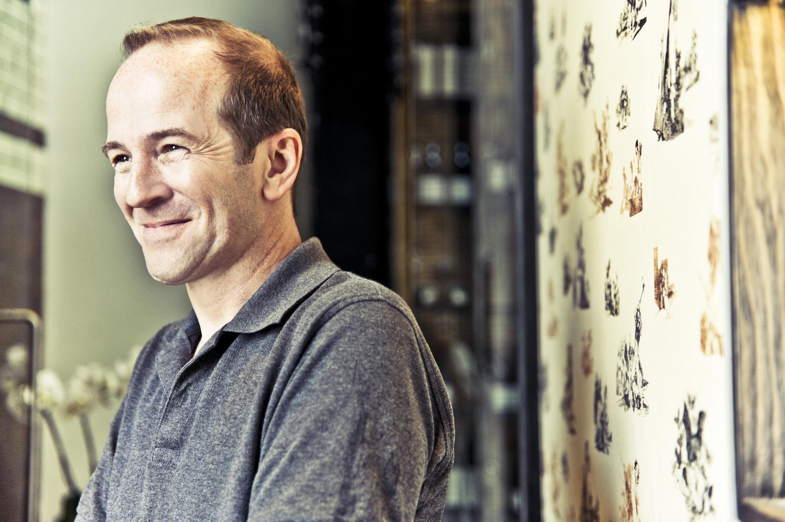 Architect Andrew Waugh. Courtesy of Waugh Thistelton Architects.