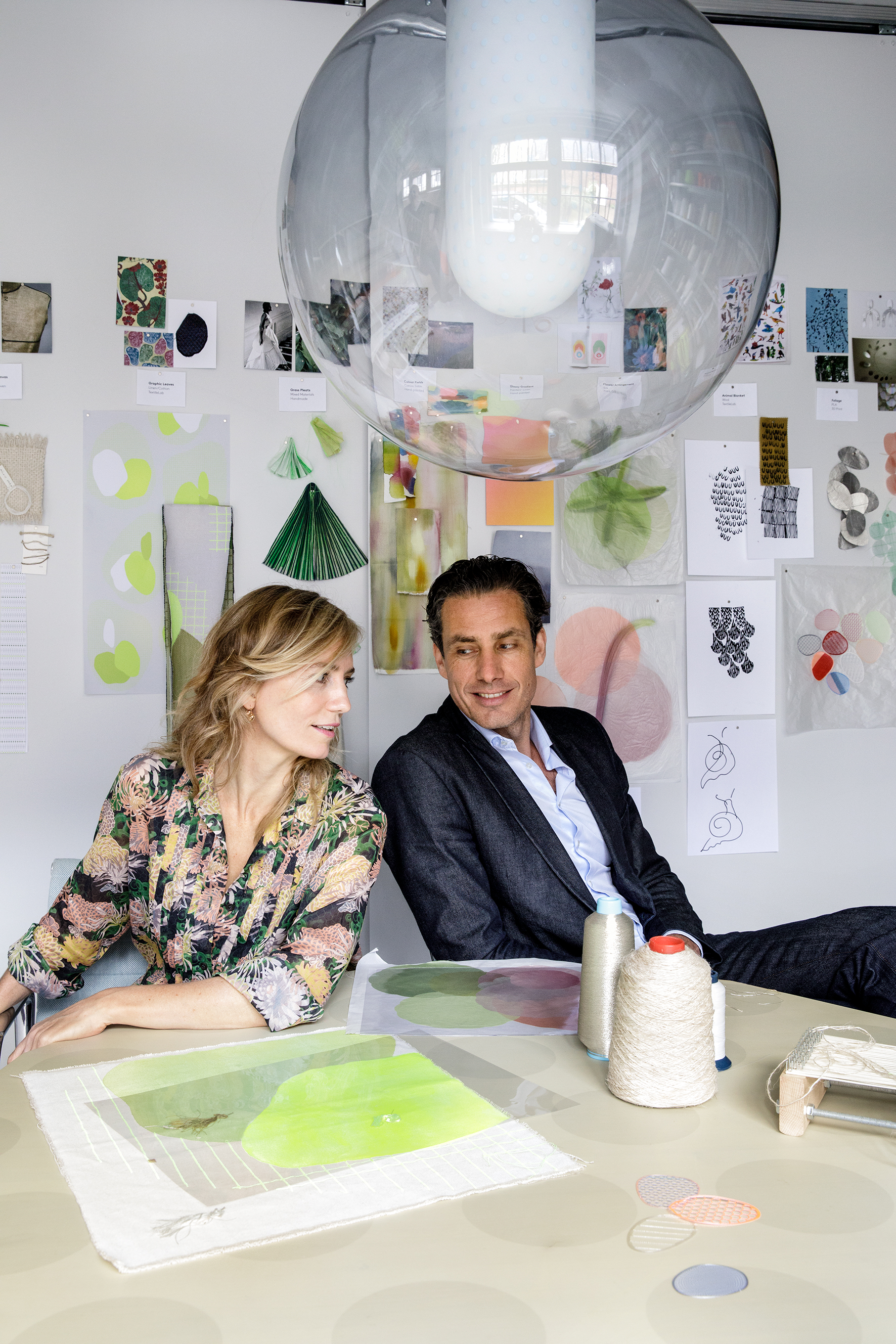 Stefan Scholten and Carole Baijings. Photo by Inga Powilleit.