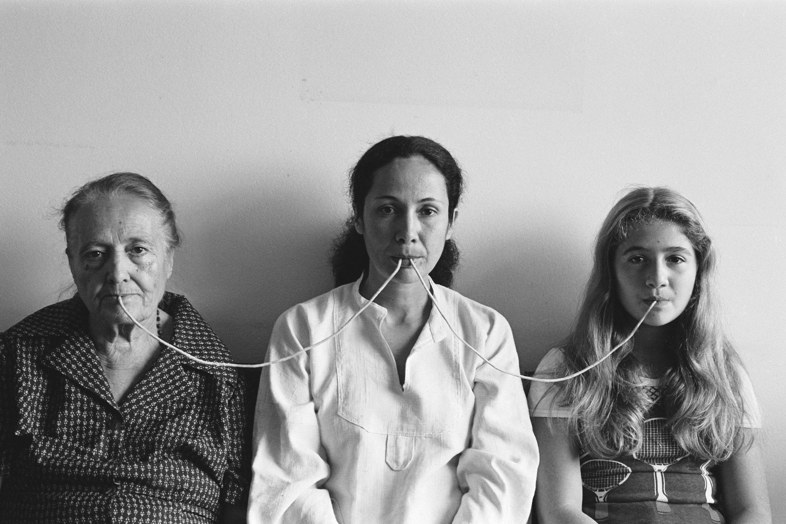 2. By a Thread, Anna Maria Maiolino, 1976/2012. Galeria Luisa Strina, São Paulo. Courtesy of Galeria Luisa Strina.