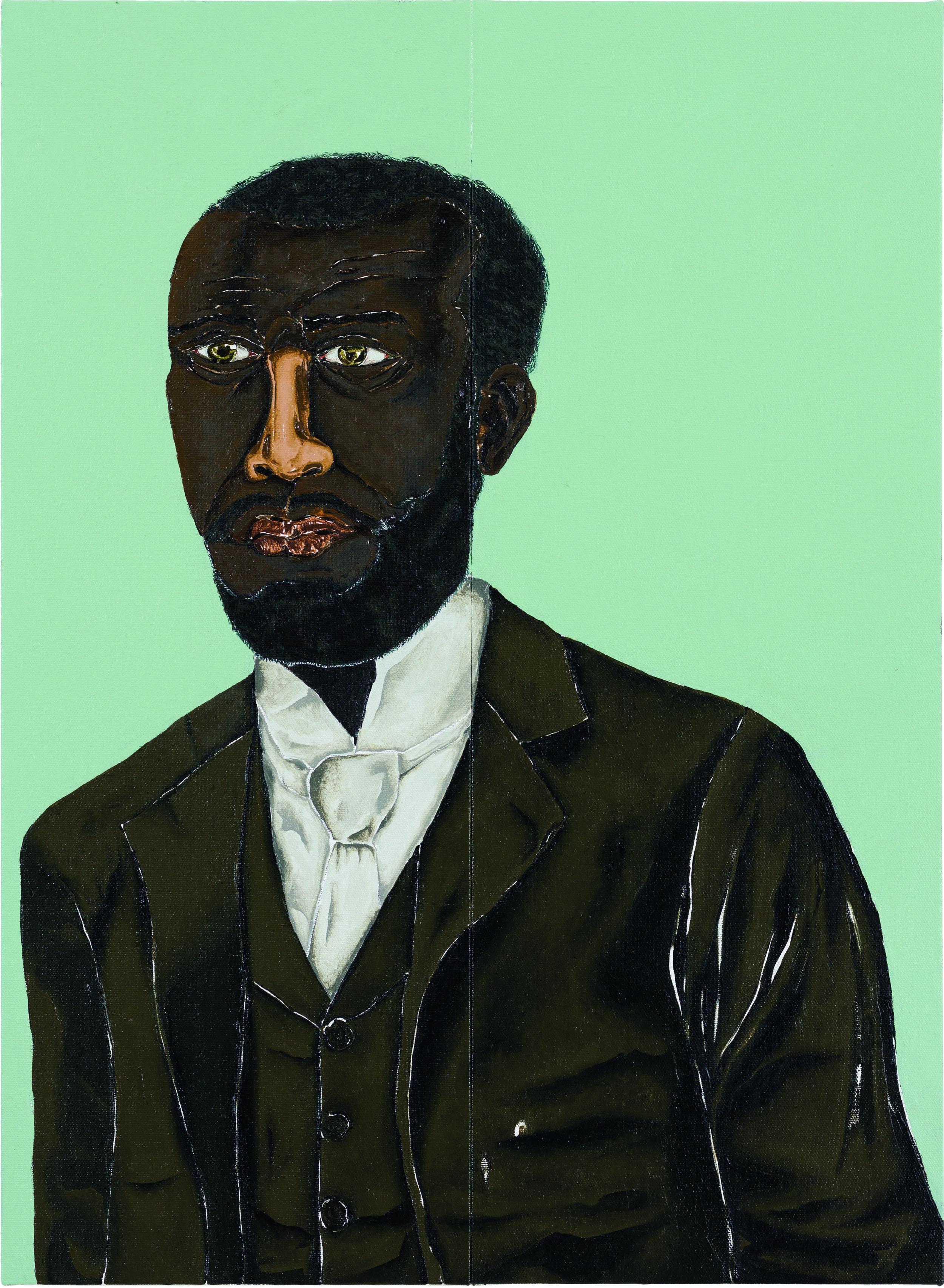 20. João de Deus, Dalton Paula, 2018. Afro-Atlantic Histories exhibition at Museu de Artes de São Paulo (MASP). Courtesy of MASP, São Paulo.