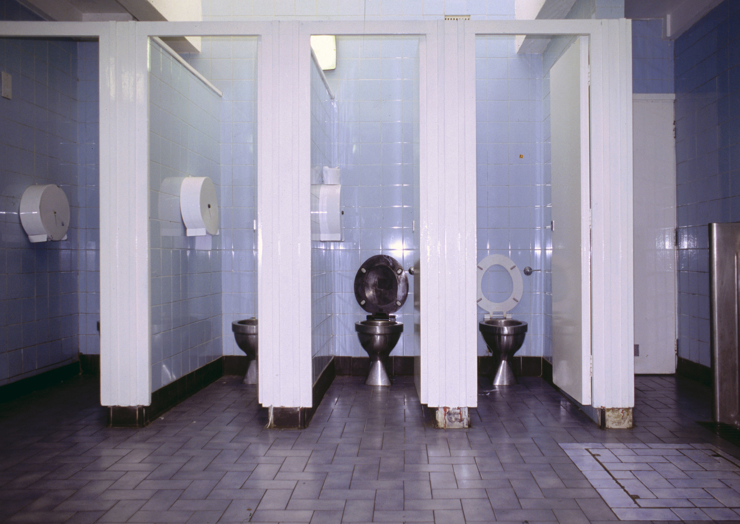 5.  Public Toilets , Ralph Dunn, 2006. Queer Spaces: London, 1980s - Today. Courtesy of the Whitechapel Gallery.