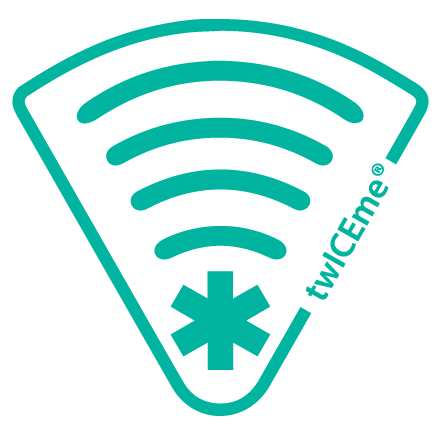 If found on protective gear, this logo can be scanned with a smartphone to gain access to essential medical information.