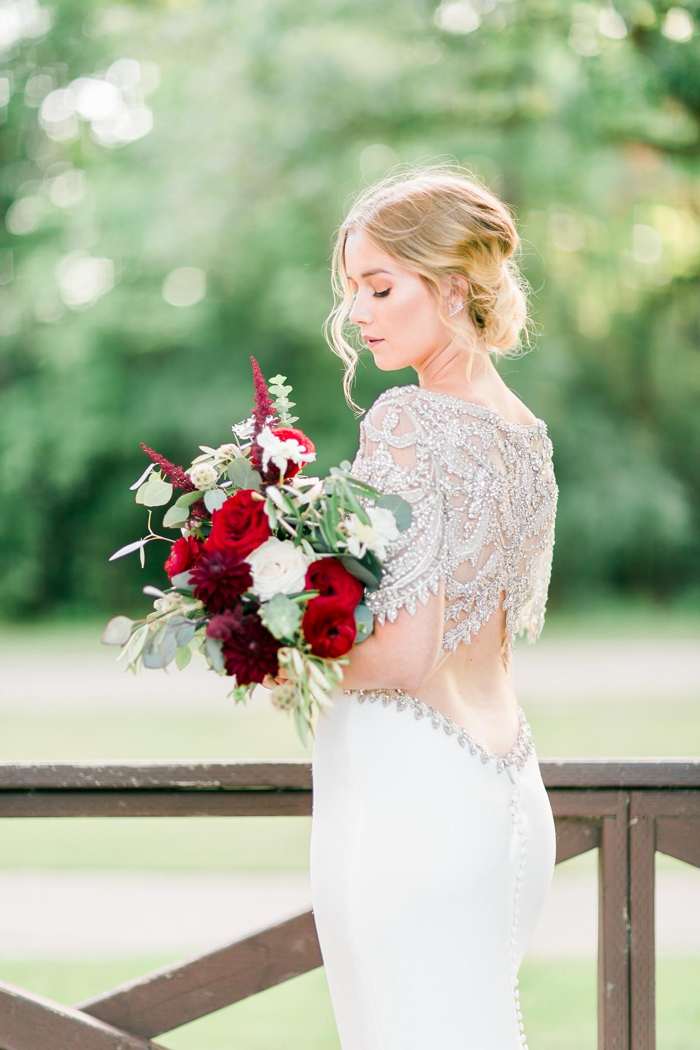 Hair by Courtney Krzysztofik - Makeup by Kiera Memka - Florald by Floral Fixx - Dress from Bliss Bridal Boutique - Photo by Charmaine Mallari