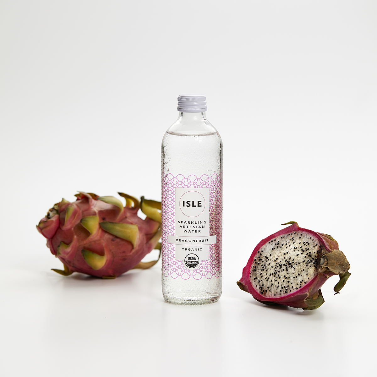 Dragonfruit - Enjoy the sparkling delights of tropical dragonfruit infused in organic New Zealand artesian spring water.
