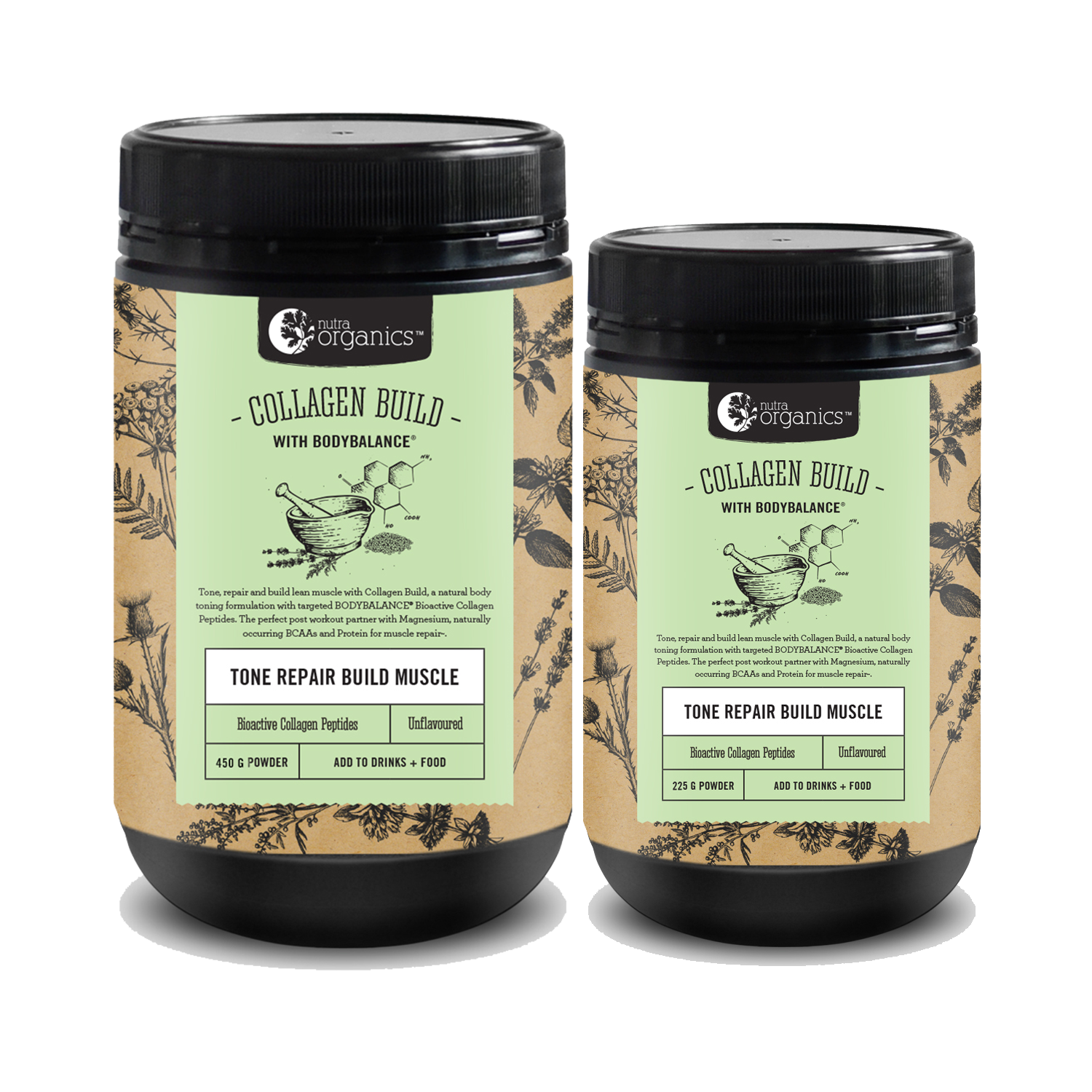 NEW - cOLLAGEN BUILD with bodybalance® - TONE // REPAIR // BUILD MUSCLE