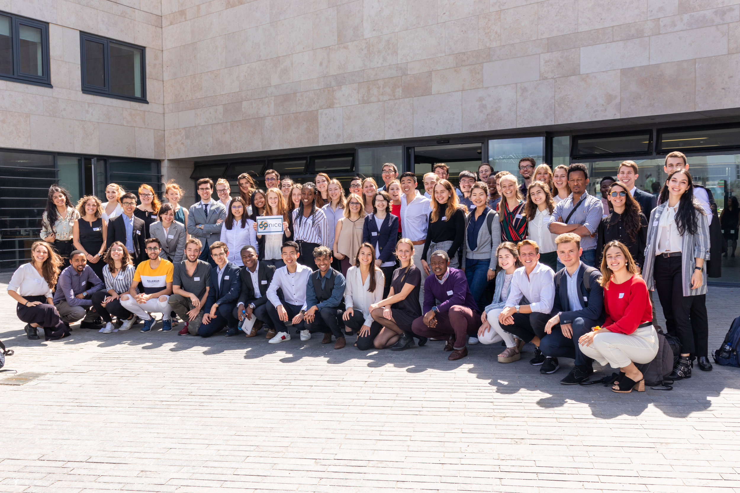 Attendees to the Dublin NICE Summer School 2019