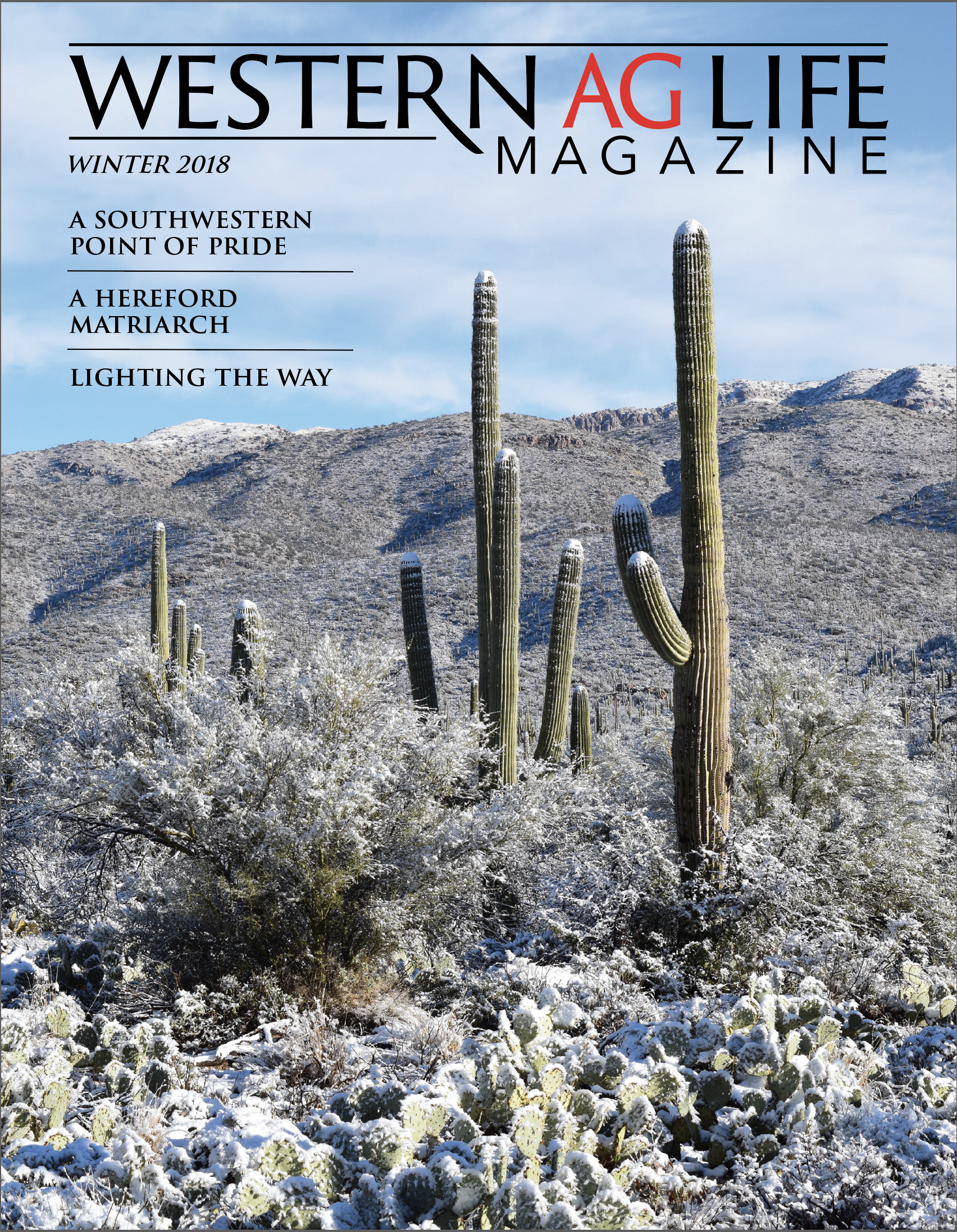WINTER ISSUE 2018 -